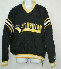 Pittsburgh Penguins NHL Windbreaker Jacket Mens L Vintage Starter Pullover