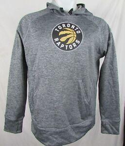 Toronto Raptors NBA Adidas  Womens Climawarm Pullover Hooded Sweatshirt