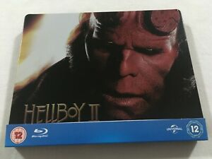 Hellboy II 2 (2008) - Universal 100th Aniversary Steelbook Blu-Ray Region Free