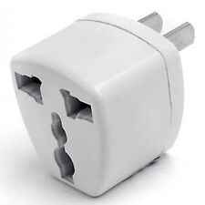 UNIVERSAL TRAVEL ADAPTER 220V 110V EUROPE USA STANDARD AC ELECTRIC POWER OUTLET