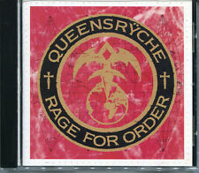 Queensryche - Rage for Order(CD, May-1989, EMI Music Distribution)