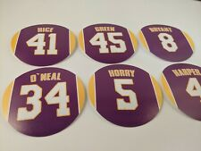 Los Angeles Lakers Magnet Set - 99-2000 team - Rice Green Bryant O'Neal Harper