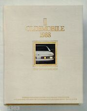 1988 OLDSMOBILE Brochure/Catalog: TORONADO,98,DELTA 88,CALAIS,CUTLASS,CRUISER,
