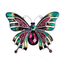 Jewelry Butterfly Wedding Fashion Rhinestone Crystal Party Pin Brooch B