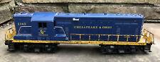 Vtg Postwar Lionel 2365 Chesapeake & Ohio GP-7 Diesel Locomotive Toy Model Train