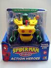 Jackhammer+Hulk+SpiderMan+%26+Friends+Action+Heroes+Motorized+2002+Playwell+NEW