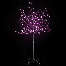 Arbre lumineux 200 led à fleurs Lumière Rose Sapin de noël  Décoration  H 150