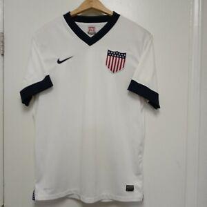 RARE Authentic Nike DriFit USA Soccer 2013 518734-105 Centennial Jersey USMNT XL