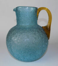 Blue Glass Bowl Victorian