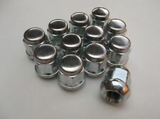 M12 x 1.5mm Chrome Plated Wheel Nuts For Alloy & Steel Wheels x 12 (PE1048)