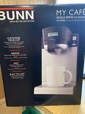 BUNN MC Model MY CAFE FAST HOUSEHOLD SINGLE CUP SERVE  POD BREWER COFFEE MAKER