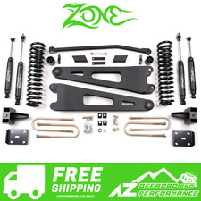 "Zone Offroad 4"" Radius Arm Drop Suspension System fits 2011-2016 Ford F250 F350"