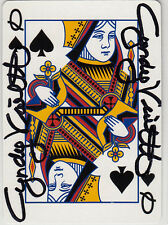 Cyndy Violette Poker Legend SIGNED CARD AUTOGRAPHED