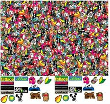 RC Drift Printed sticker pack 31 stickers