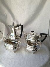 More details for beautiful antique daniel & arter epns tea &coffee pot set