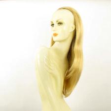 DT Half wig HairPiece extensions long light golden blond 24.4  REF :19/lg26