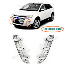 FITS FORD EDGE 2007-2010 STAINLESS CHROME TRUNK TAILGATE MOLDING 3PCS