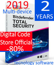 Bitdefender total Security multi Device 2018  10 dispositivos  2 years Code