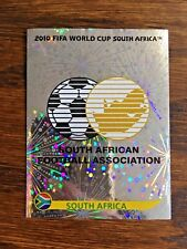 SOUTH AFRICA TEAM PANINI FOIL STICKER, WORLD CUP SOUTH AFRICA 2010 #SA31