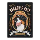 Retro Pets Refrigerator Magnet - Berner's Best Ale (Beer), Bernese Mountain Dog