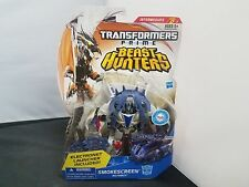 TRANSFORMERS PRIME BEAST HUNTERS SMOKESCREEN DELUXE CLASS NEW