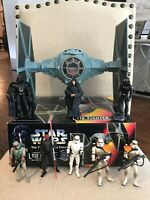 Star Wars Tie Fighter The Power Of The Force With Action Figures Kenner 1995