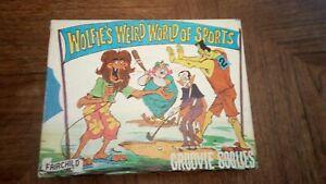 1971 Fairchild GROOVIE GOOLIES 60 Piece Jigsaw Puzzle Wolfies Weird World Sports