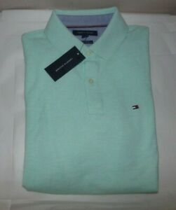 NWT Mens Tommy Hilfiger S/S Polo Shirt~Green~SZ SMALL