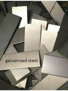 2mm thick  -  GALVANISED STEEL SHEET - OFF-CUTS  -   10kg pack