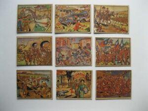 Horrors Of War Cards- 1938 Gum Inc- Lot Of 9-Pre World War II-Nice Cards