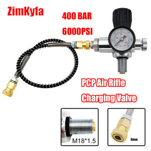 High Pressure Paintball Fill Station HPA CO2 Tank Charging System M18*1.5