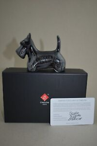 Cmielow Scottie Porcelain Figurine. Boxed with Certificate
