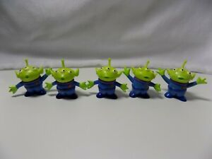 """Lot of 5 different vintage Toy Story Aliens from Disney World, 2"""" x 2"""""""