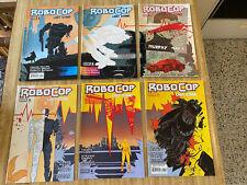 Robocop Last Stand #2 - #7 by Frank Miller Korkut Oztekin (2013, Boom! Studios)
