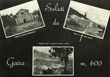 Z14052-SALUTI DA GAIRO, TRE VEDUTE, OGLIASTRA, PROVA DI CARTOLINA