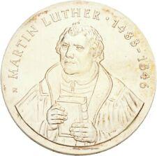 Künker: DDR, 20 Mark 1983 (A,) 500. Geburtstag Martin Luther, Erhaltung!