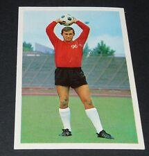 FRED HEISER HANNOVER 96 FUSSBALL 1966 1967 FOOTBALL CARD BUNDESLIGA PANINI