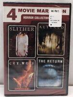 4 Movie Marathon: Horror Collection (DVD, 2011, 2-Disc Set)