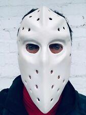 White Hockey Mask Jason Heat Bank Robber Heist Halloween Costume Masks Friday