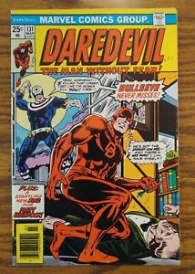 Daredevil 131, Uncertified, first Bullseye appearance.
