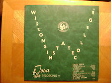 TOSA LP RECORD 160/ WISCONSIN STATE COLLEGE CHOIR MADRIGAL SINGERS/VG+ RED VINYL