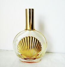 "Vintage Perfume Atomizer Bottle France Made by VCA Metal Gold Shell Front 5"" Hi"