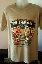 2003 AFC-NFC Hall of fame game Chiefs vs. Packers tshirt Adult Size Med