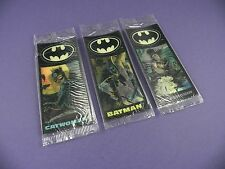 Batman Flicker Cards - 1990's Cereal Premiums – Sealed in Packets