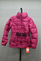 The North Face Belted Mera Peak Insulated Down Jacket, Women's Size S, Plum NEW