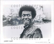 1982 Wire Photo Jimmy Cliff Jamaican Musician Singer Actor