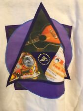 ROCK and ROLL HALL OF FAME MUSEUM Triangle Square Circle MEMBER T-Shirt NWT, XL