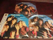 ROLLING STONES PAST DARKLY JAPAN 200 GRAM + 180 GRAM CLEAR & ORANGE OCTACON LP'S