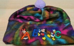 BRAND NEW | Disney Mickeys Stuff For Kids Fleece Beanie | 90s VINTAGE
