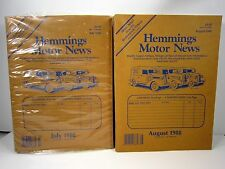 July & August 1988 Hemmings Motor News Magazines Antique Auto Car Truck Catalog